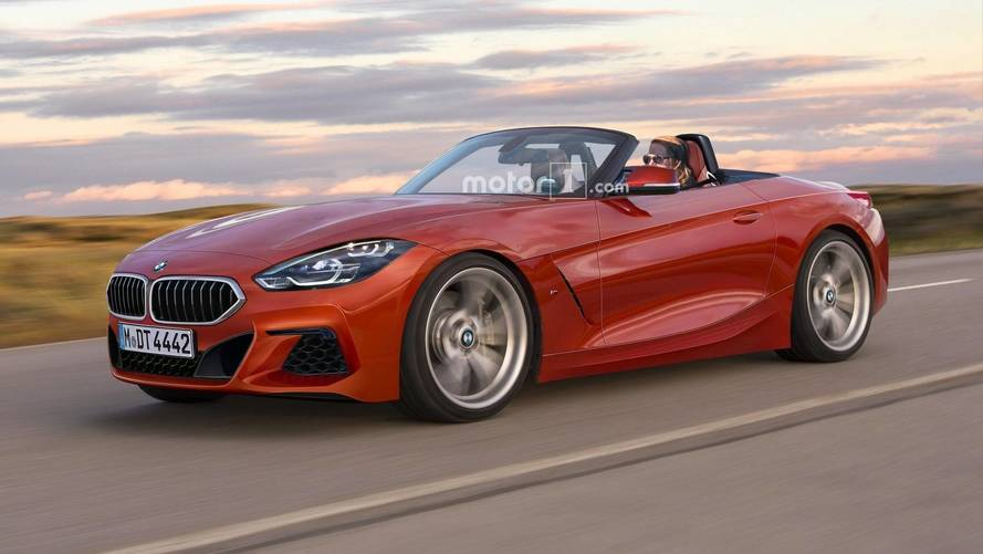 BMW Z4 Render Clears The Camo To Reveal Dead-Sexy Drop Top