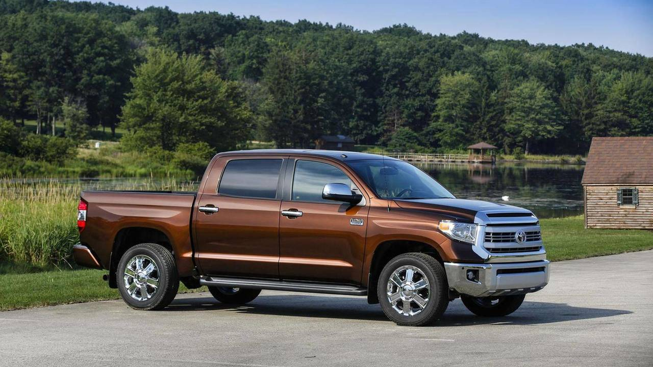 2. Full-Size ½ Ton Pickup: Toyota Tundra