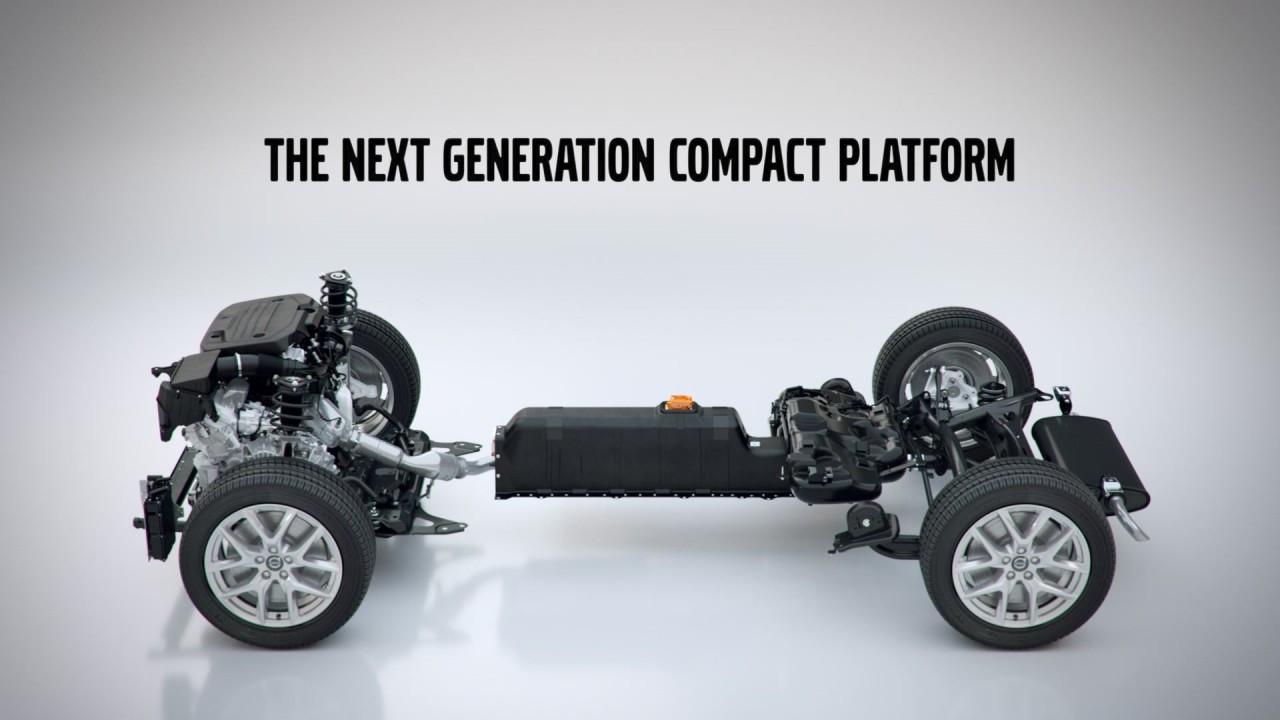 Volvo, la piattaforma CMA 002