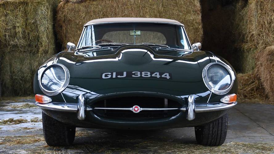 Ultra-Rare Jaguar E-Type Up For Sale