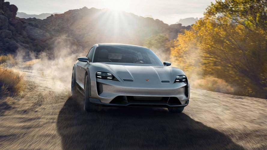 Porsche Mission E Cross Turismo'ya yakından bakın