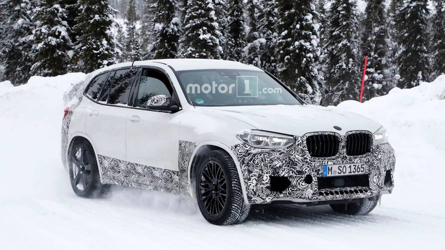 BMW X3 M Spied Inside And Out With Just A Hint Of Camo