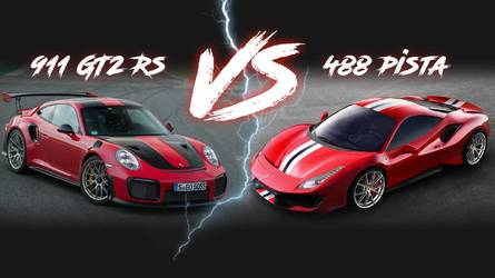 Ferrari 488 Pista Vs. Porsche 911 GT2 RS: Battle By The Numbers