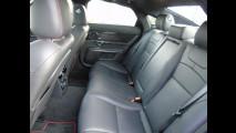 Jaguar XJ 3.0 AWD, test di consumo reale Roma-Forlì