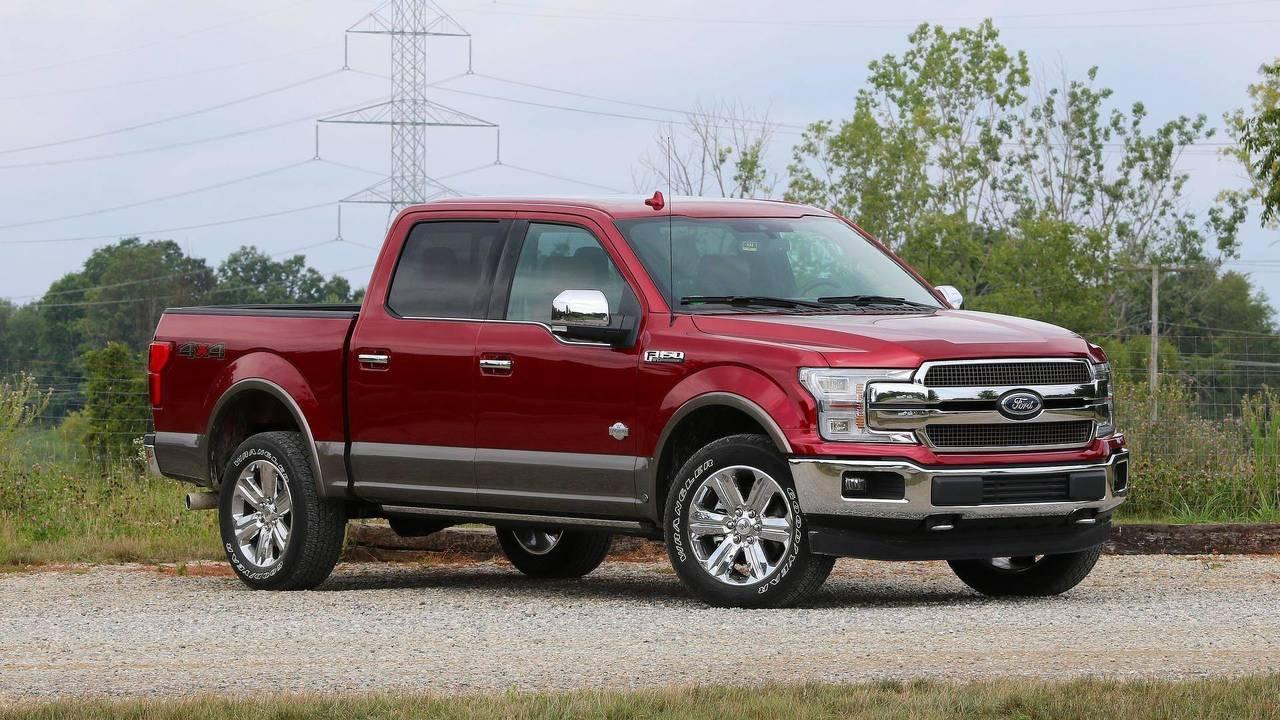 1. Ford F-Series: 896,764 Units