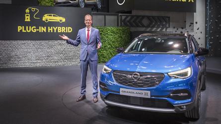 Opel prépare un Grandland X hybride rechargeable