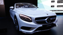 2018 Mercedes S-Class Coupe, Cabriolet Live In Frankfurt