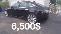 Flooded and repaired Tesla Model S