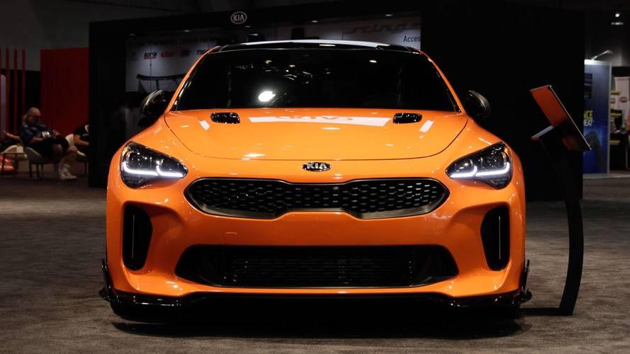 Kia Stinger: SEMA 2017 | Motor1.com Photos