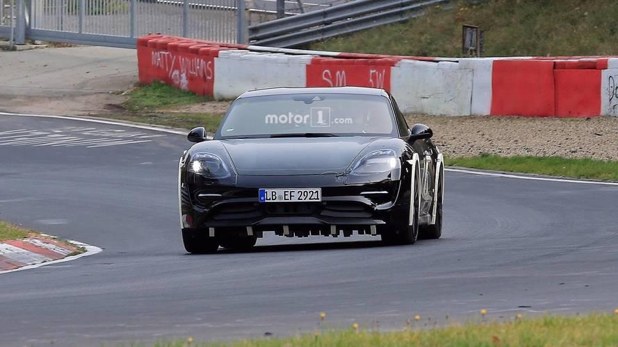 Porsche Mission E Nurbugring Casus Fotoğrafları