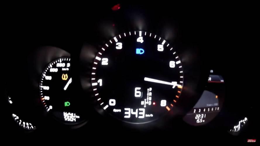 VIDÉO - 343 km/h à bord de la Porsche 911 Turbo S Exclusive Series