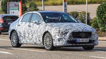 Mercedes Clase A Sedan 2018 fotos espía