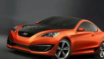Hyundai RWD Genesis Coupe Concept