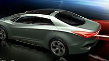 Hyundai i-flow concept design sketch Geneva teaser - 12.02.2010