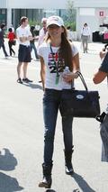 Jessica Michibata (JPN), girlfriend of Jenson Button (GBR), Japanese Grand Prix, Suzuka, Japan, 04.10.2009