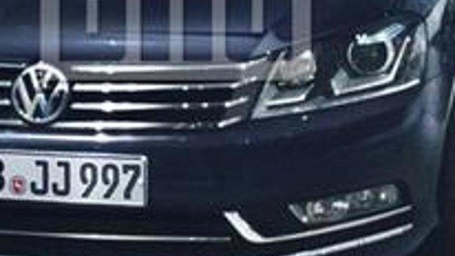 2011 Volkswagen Passat major facelift leaks again