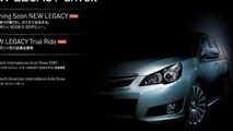 2009 Subaru Legacy sedan JDM teaser screenshot