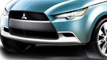 Mitsubishi Concept cX Sketch Cropped
