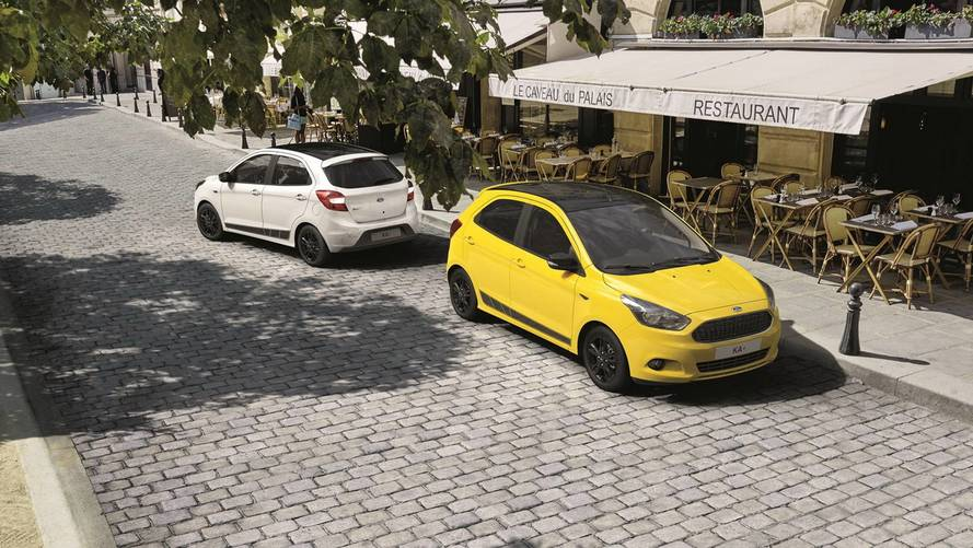 Ford Ka+ Gets A Splash Of Color In Europe