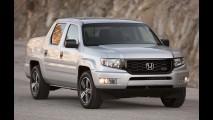 Honda divulga teaser de sua nova picape média