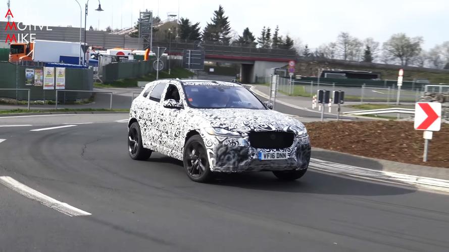VIDÉO - Le Jaguar F-Pace SVR fait rugir son moteur