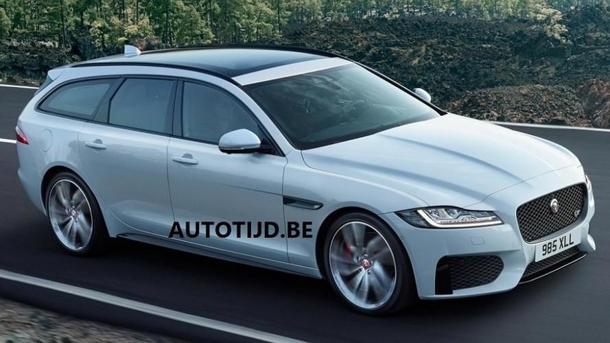 2018 Jaguar XF Sportbrake sızdırılan resmi fotoğraflar