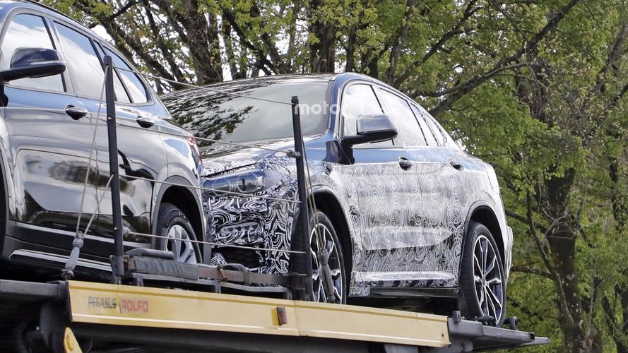 BMW X4 photos espion