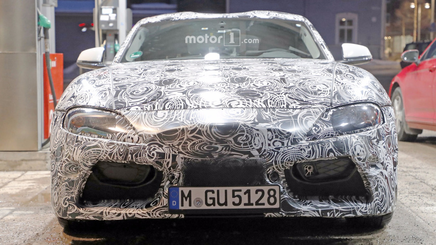 2018 Toyota Supra new spy images