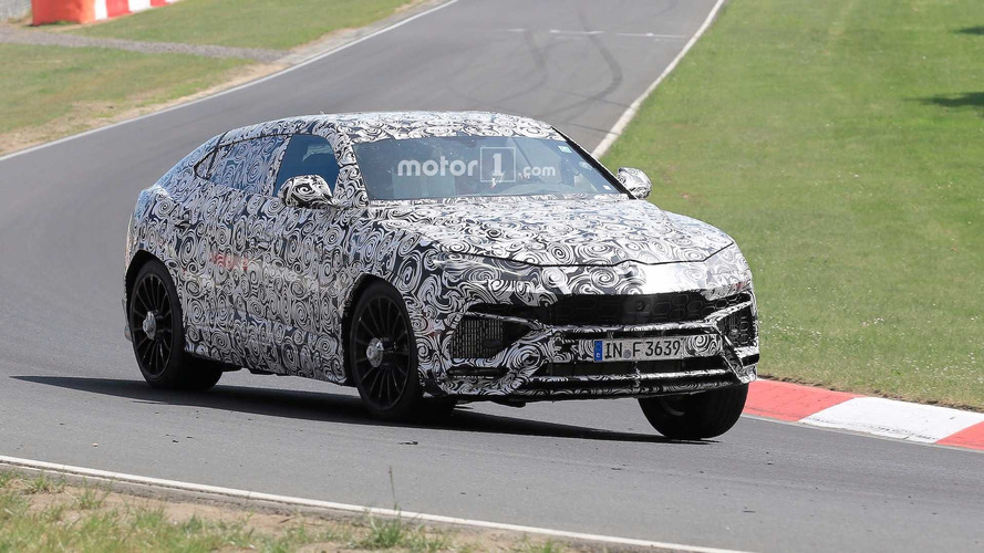 Lamborghini Urus Caught Tackling Nurburgring For First Time