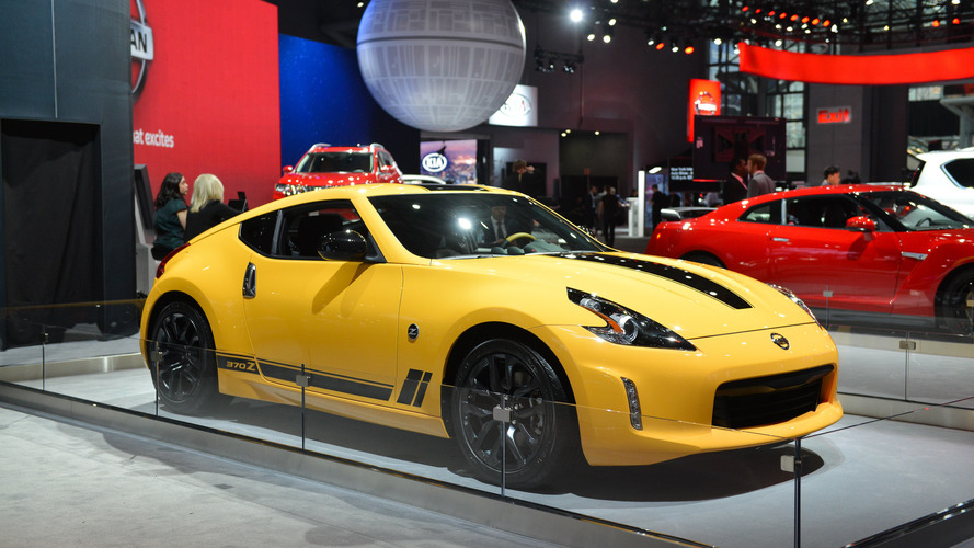 Nissan 370Z Heritage Edition Is New York's Sexy Senior