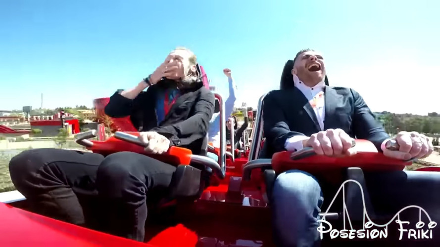 Ferrari Roller Coaster Rider Takes A Pigeon To The Face At 112 MPH
