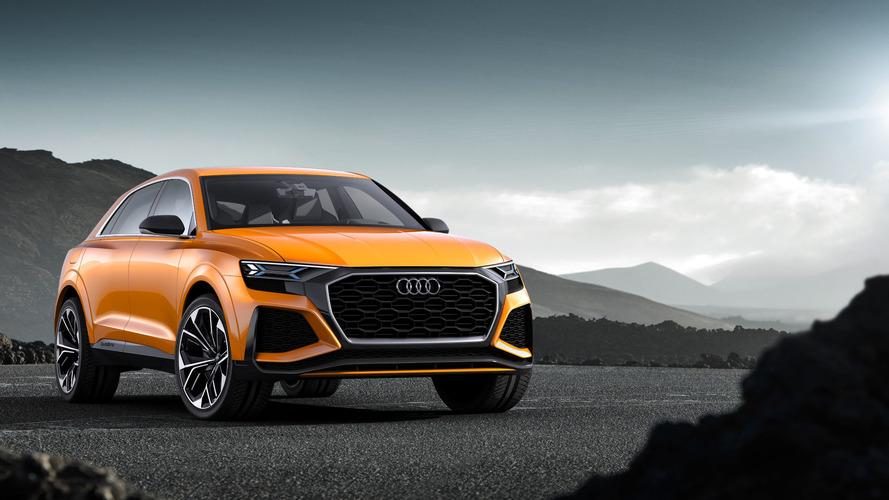 Audi Q8 Sport Concept previews brand's flagship performance SUV