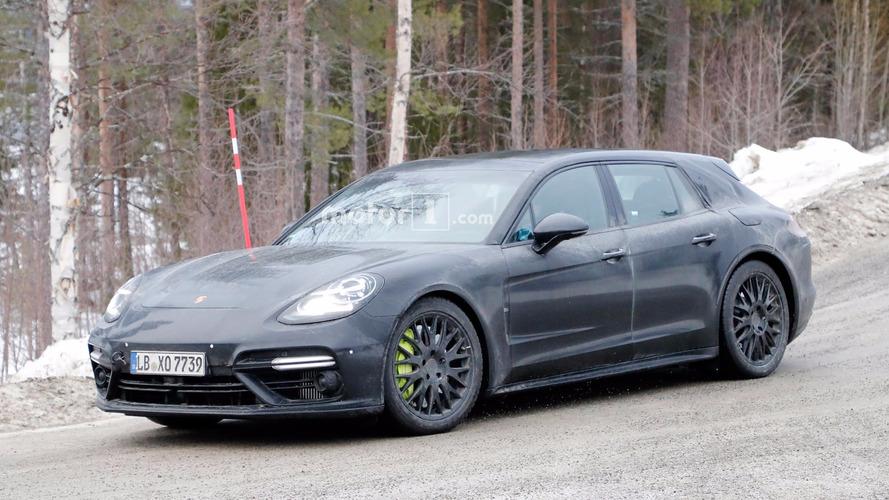 Porsche Panamera Sport Turismo, lansman öncesinde objektiflere poz verdi