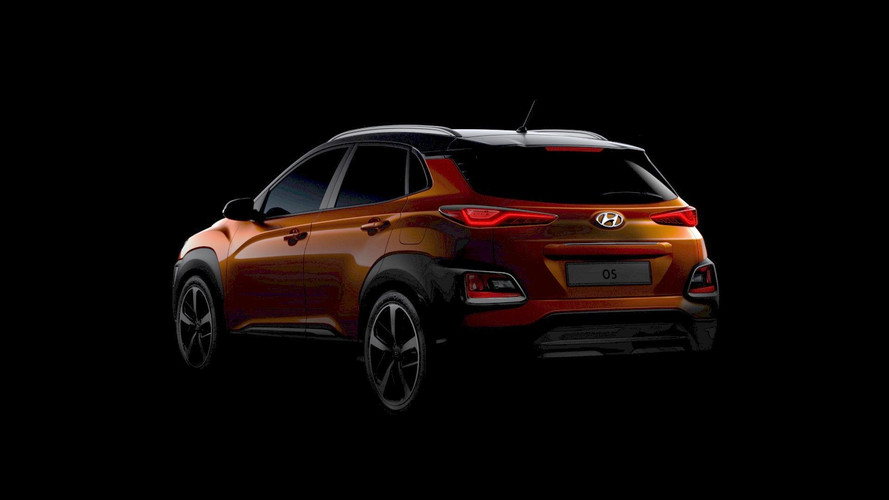 2018 Hyundai Kona teaser images (original and modified)