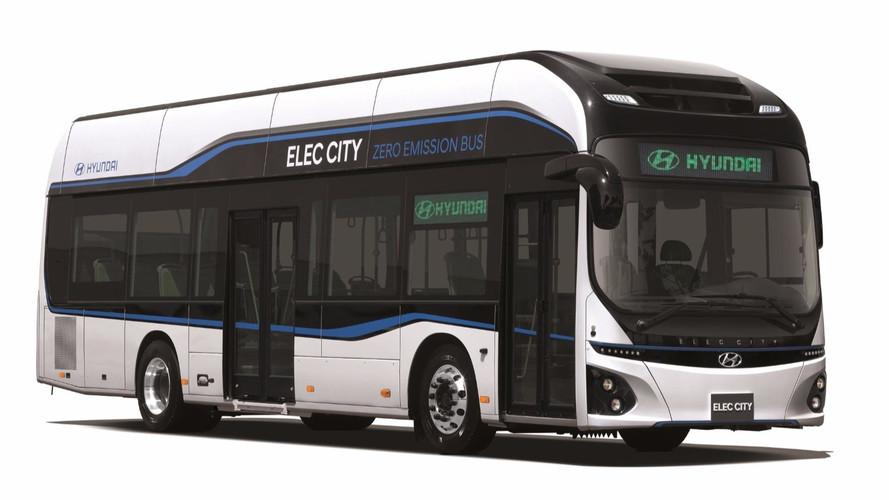 Presque 300 km d'autonomie pour le bus électrique Hyundai