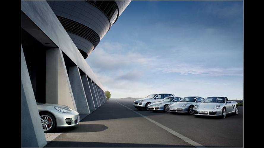 Salami-Taktik: Porsche zeigt erste Fotos des Panamera