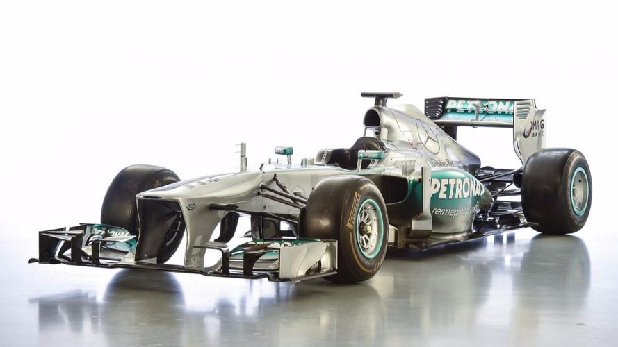 Une Mercedes F1 ex-Lewis Hamilton mise en vente !