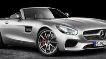 Mercedes-AMG GT Roadster render