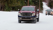 Nissan Titan cold weather testing