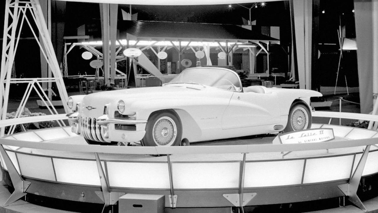 1955 LaSalle II Roadster concept car
