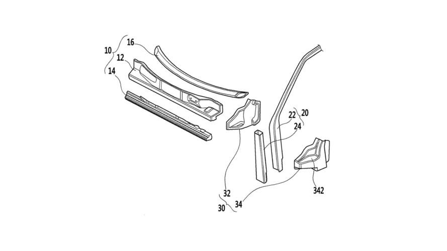 Hyundai'den CFRP ön bölüm patenti atılımı