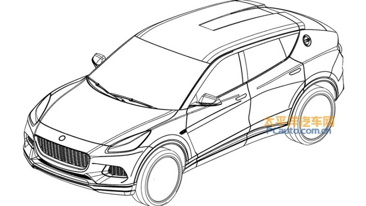 Lotus SUV leaked patent images