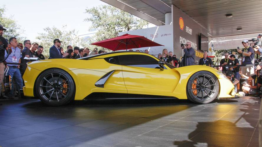 Hennessey F5 - Futur cauchermar de la Koenigsegg Agera RS ?