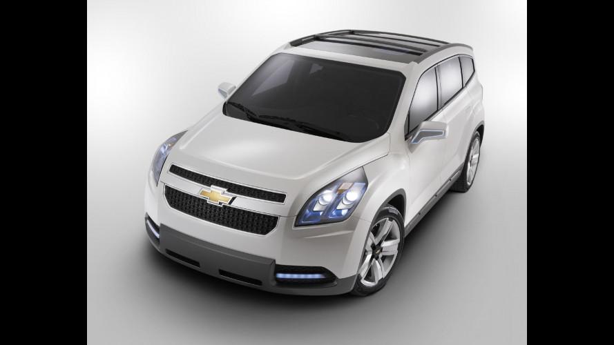 Chevrolet Orlando: debutto nel 2011