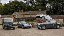 Jaguar Land Rover Classic Drive Eastnor Castle