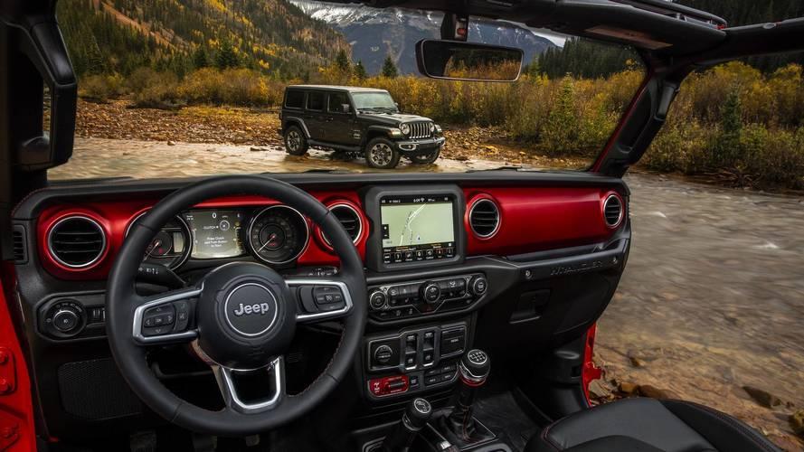 Jeep Wrangler 2018 tem primeiros detalhes do interior revelados