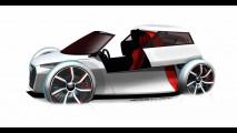 Audi Urban City Concept - Gli sketch