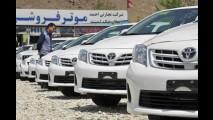 Toyota Corolla é amado no Afeganistão e responde por 80% da frota