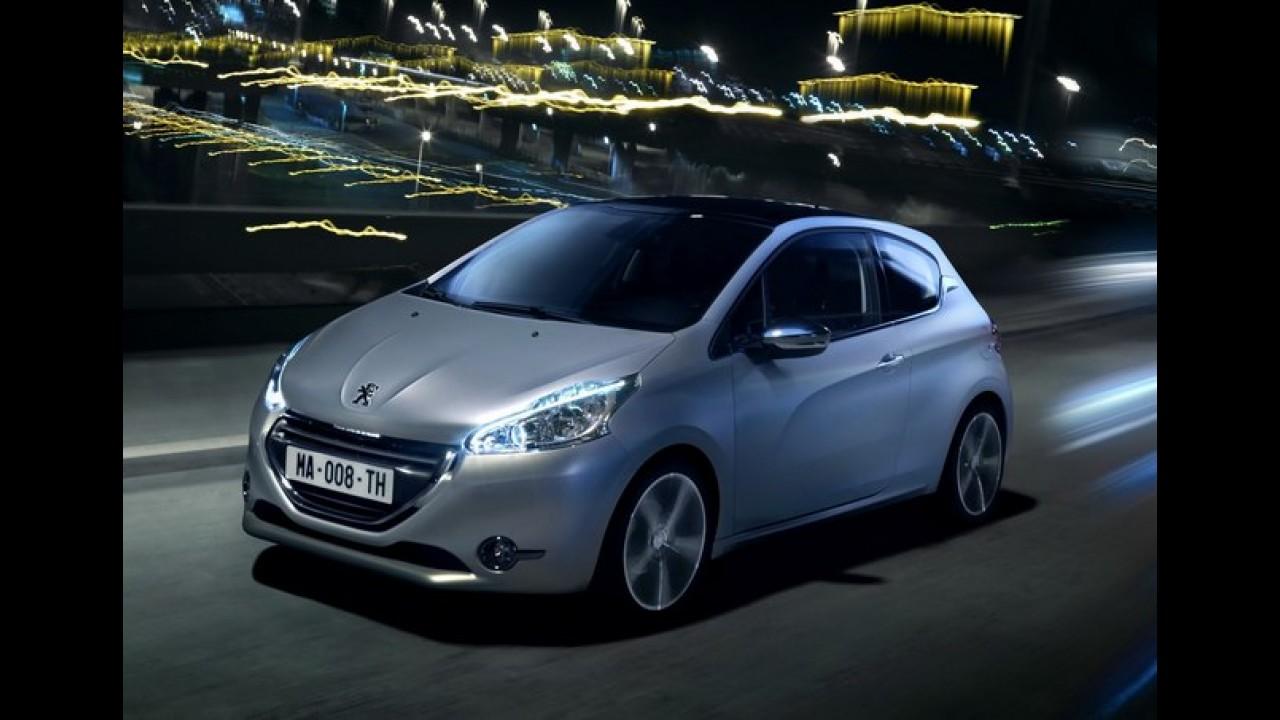 Peugeot 208 em versão esportiva GTI será apresentado no Salão de Paris