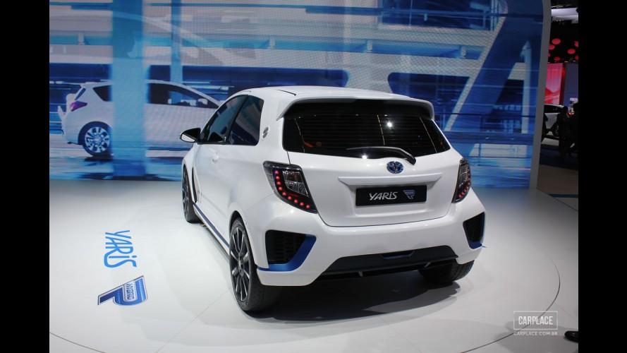 Salão de Frankfurt: Toyota Yaris Hybrid-R de 420 cv alia esportividade e eficiência
